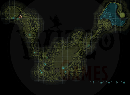 New Patreon Map - The Dark Cavern