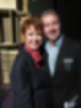 Donna McKechnie and Marcus Galante