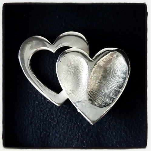 Fingerprint Brooch