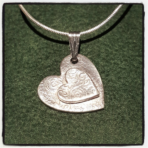 Ashes in Silver Memorial Necklace
