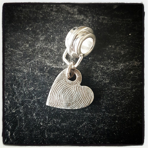 Small Fingerprint Charm