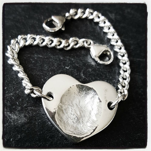 Large Fingerprint Bracelet