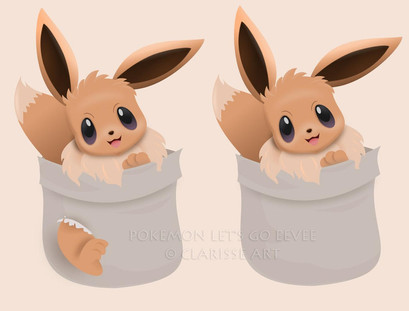 pokemon_lets_go___eevee_by_clarisse2dart