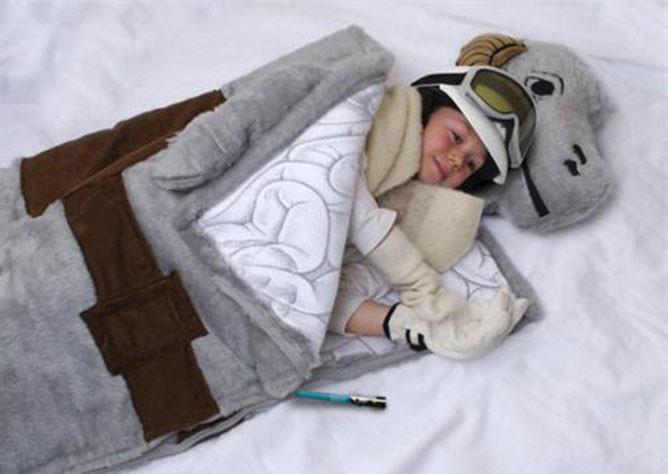tauntaun sleeping bag bad star wars merch