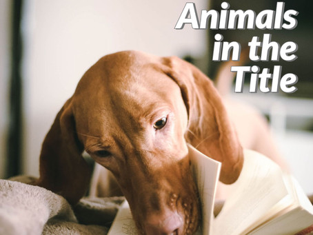 Ranked: Books With Animals in the Title