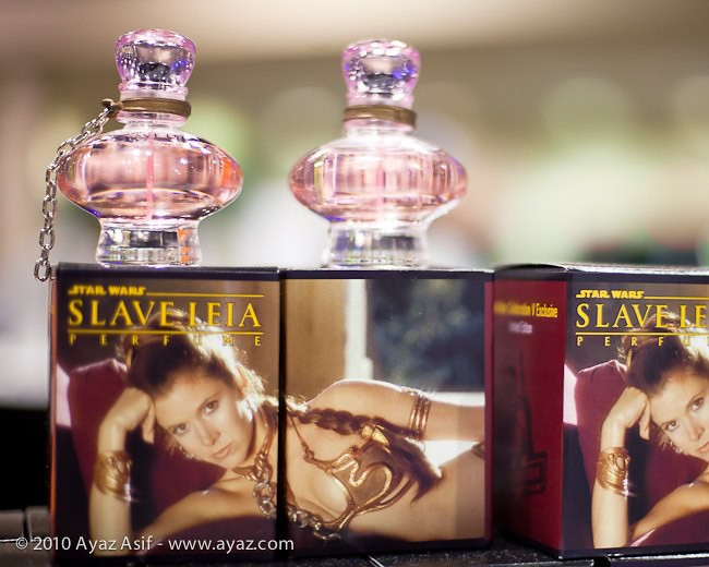 slave leia perfume bad star wars merch