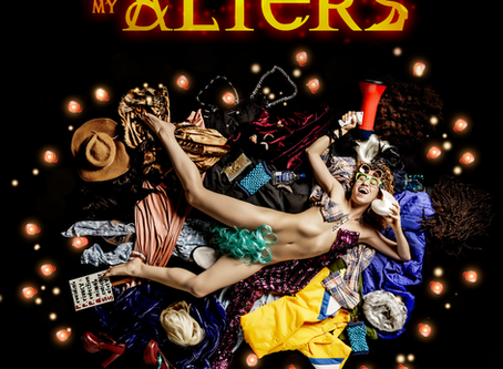 Edna performs 'Altars for my Alters'                           in SF Fringe!