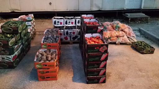 Vegetable Distribution