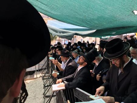 The Holy Shalah Erev Chodesh Sivan