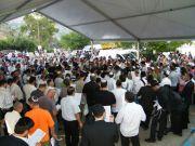 Amuka Yartzeit Praying