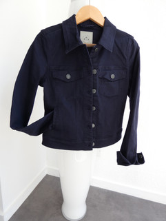 Veste coton marine - 34€