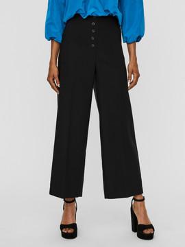 Pantalon taille haute coupe large - 49€