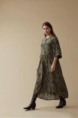 Robe longue kaki - 79€
