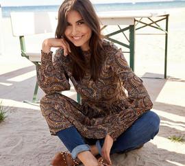 Robe motif cashemire - 69€