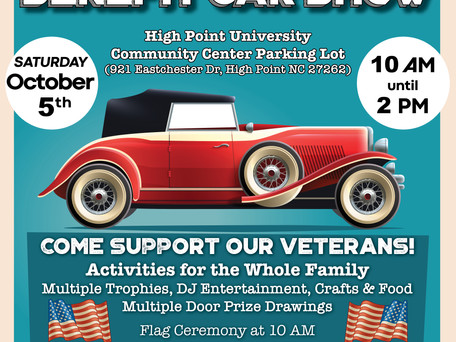 2019 Veteran's Benefit Car Show