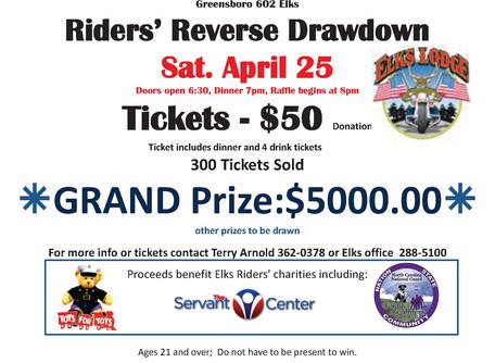 Elks 602 Rider's Reverse Drawdown