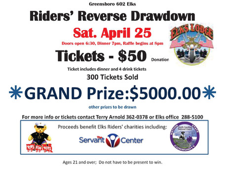 Elks 602 Rider's Reverse Drawdown