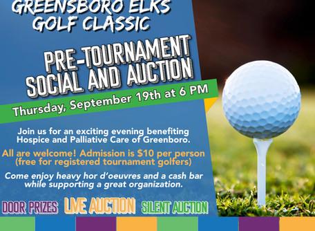 2019 Greensboro Elks Golf Classic Pre-Event
