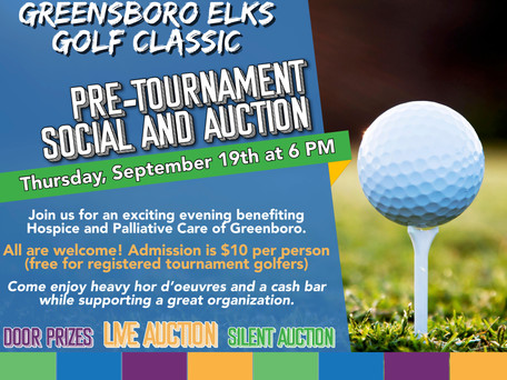2019 Greensboro Elks Golf Classic Pre-Event