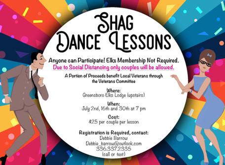 Shag Dance Lessons