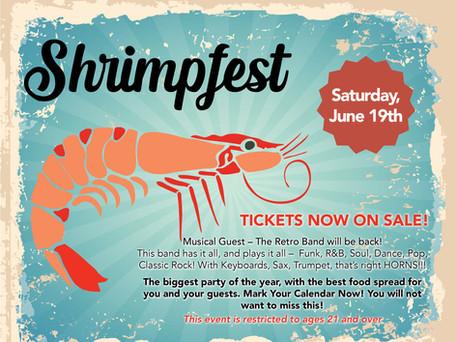 Join us for Shrimpfest!
