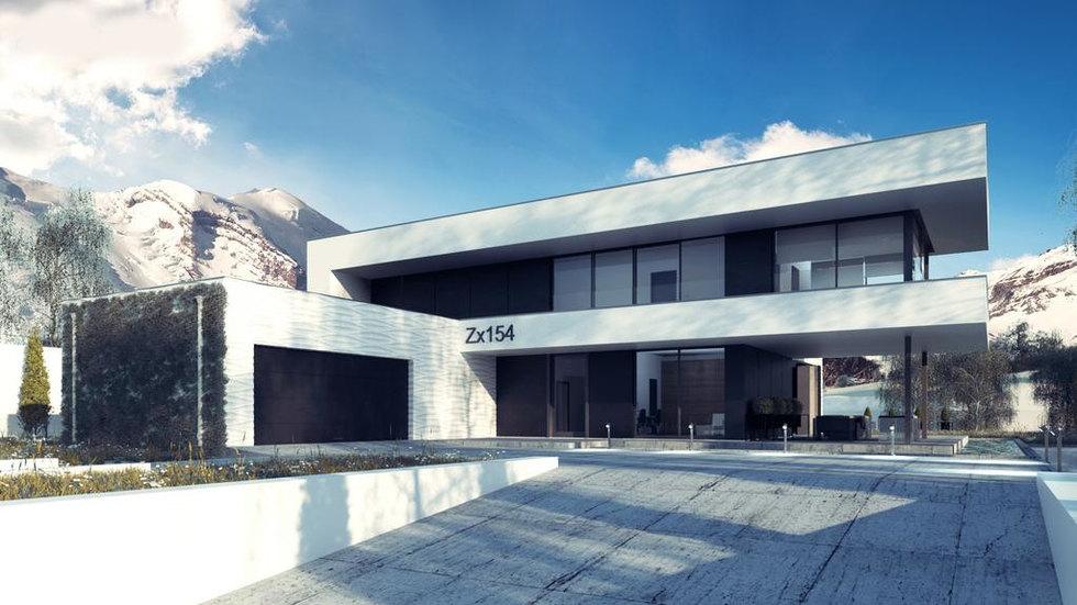 Проект Zx154 280 м2