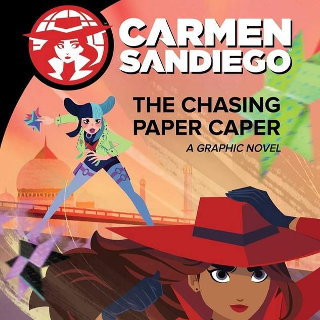 Carmen Sandiego Graphic Novels Design & Production