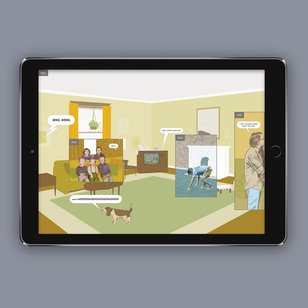 Here Interactive Graphic Novel UX & Production