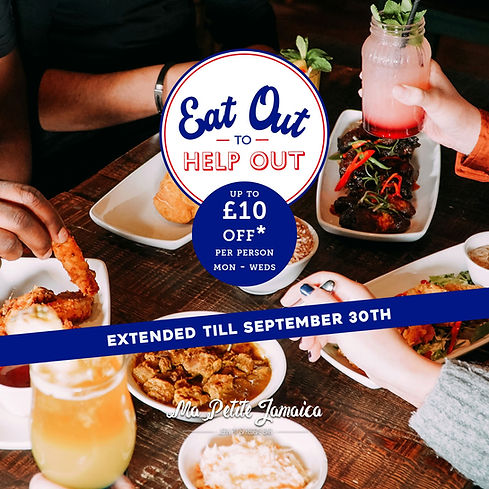 Ma Petite Jamaica - Extended Eat out to