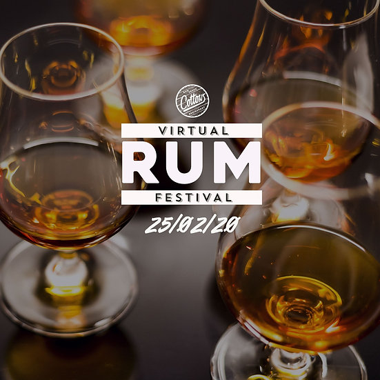 Cottons Virtual Rum Festival - 2nd Edition / 25th Feb 2021 (including Rum box)