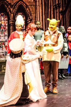 Fiona, Farquaad and Shrek