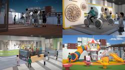 어린이 과학 체험관 3D 시뮬레이션 영상