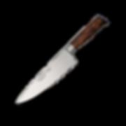 Produktfotografie Messer Holzgriff