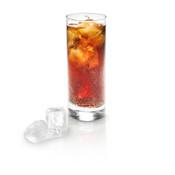 Foodbild Cola Glas Eiswürfel