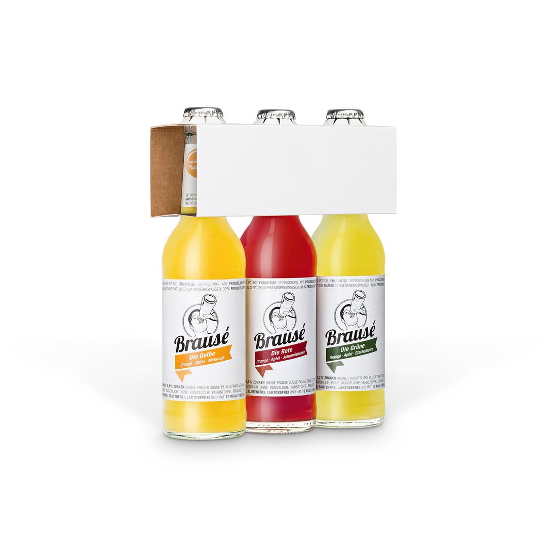 Packshot Getränkeflaschen