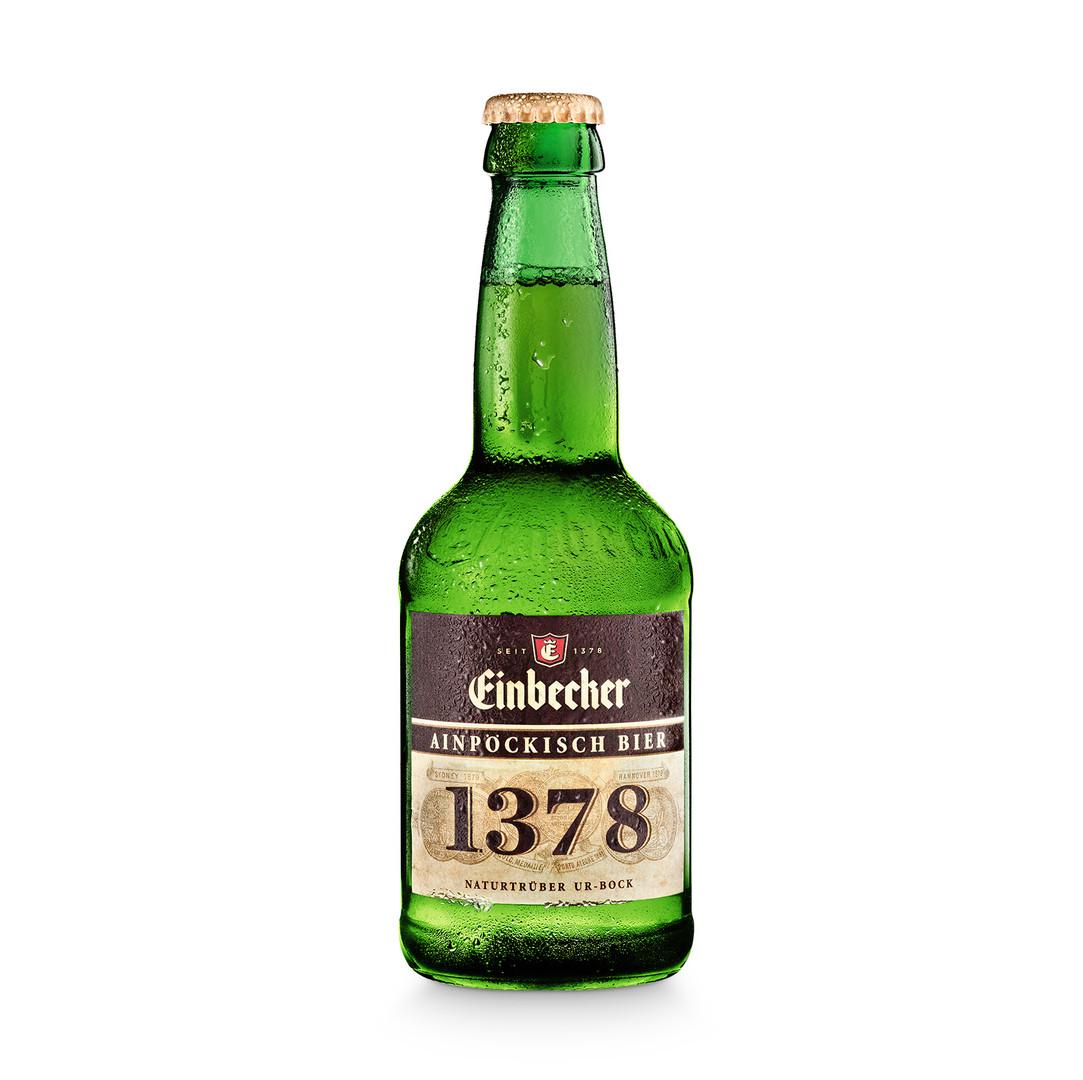 Packshot Bierflasche