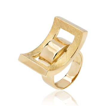 Schmuckfotografie Ring gold
