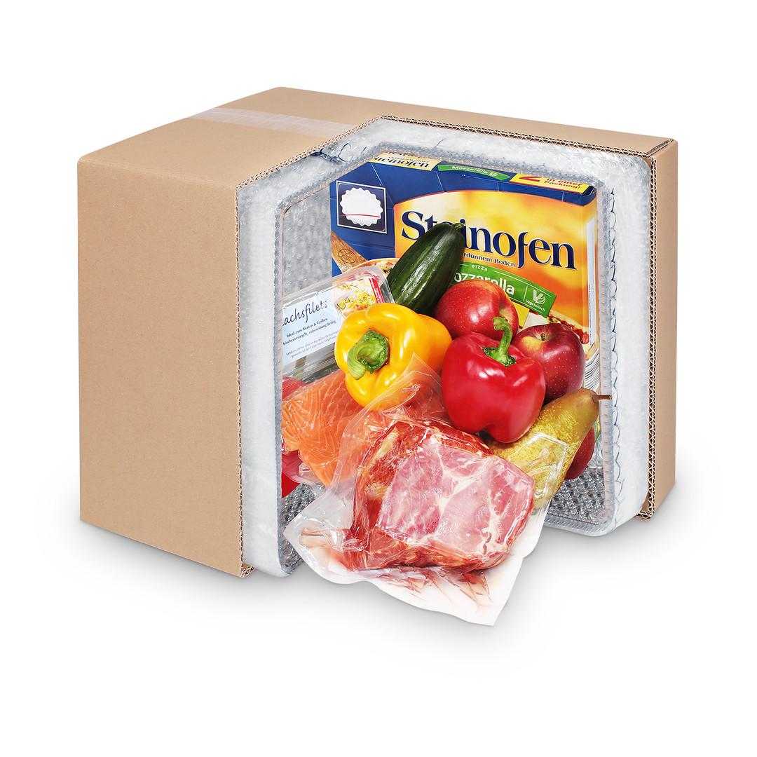 Produktfotografie Kühlpackung Gemüse