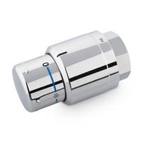 Industriefotografie Thermostat silber