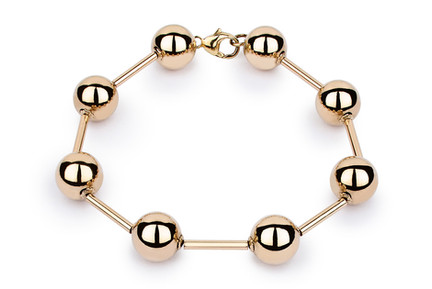 Schmuckbild Armband gold