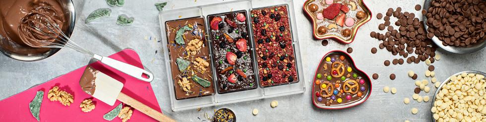 Food-Fotografie Küche Schokolade Herstellung