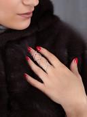 Schmuckbild Ring Hand Detail