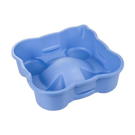 Produktfoto blaue Plastikschüssel