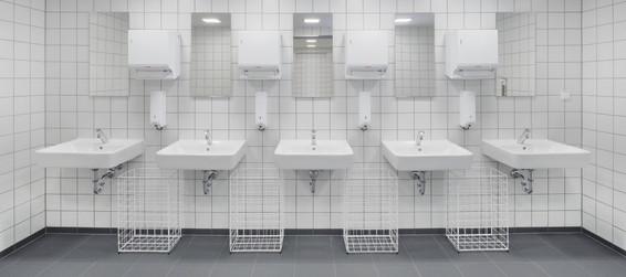 Industriefotografie Waschbecken