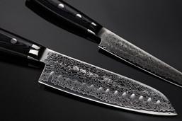 Moodfotografie Damaszener Messer