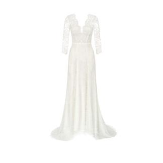Modefotografie Kleid weiß Brautkleid