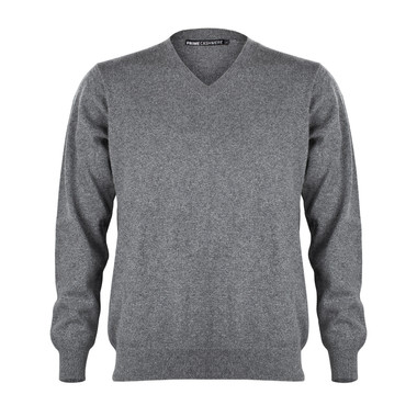 Modefoto Pullover grau Hollow-Man