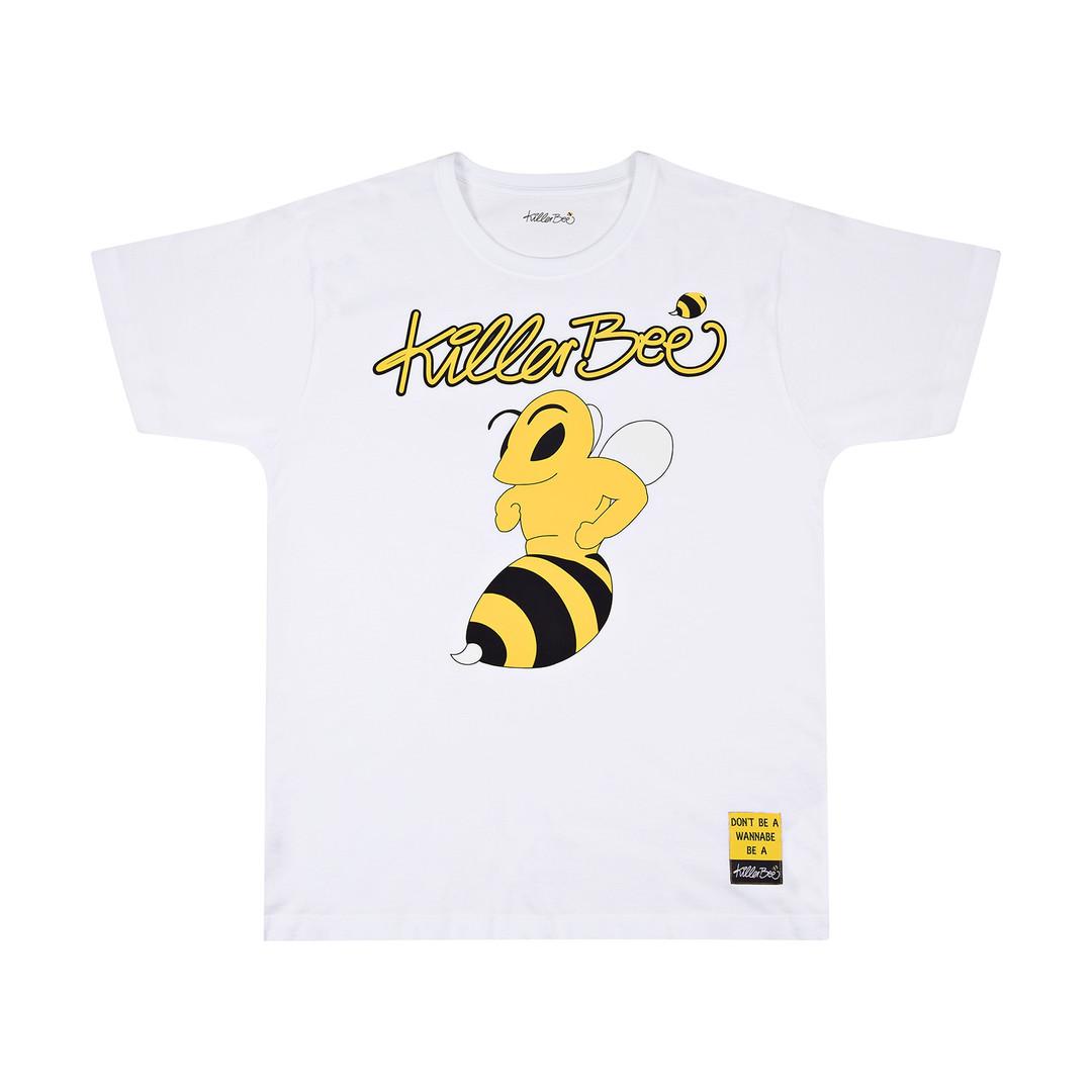Produktfoto weißes T-Shirt mit Aufdruck