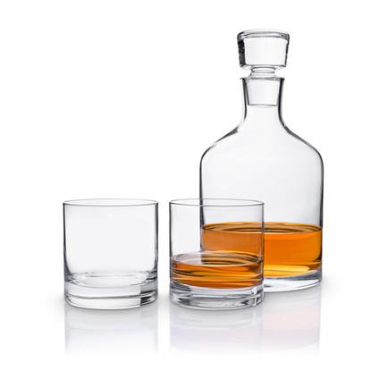 Produktfotografie Whiskydekanter Gläser