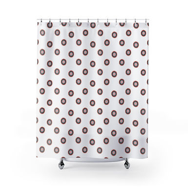 Point Break by A. Talese - Shower Curtain